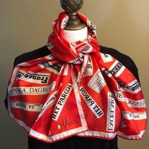Rare vintage Vera scarf
